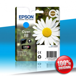 Tusz Epson 20/201/20x/40x XP (T1802) CYAN 3,3ml