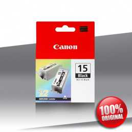 Tusz Canon 15 (i 70) BCI BLACK 2x5,5ml