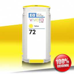 Tusz HP 72 YELLOW 130ml