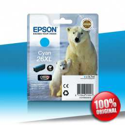 Tusz Epson 600 XP XL (T2632) CYAN 9.7ml