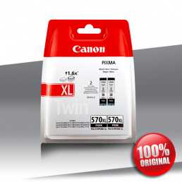 Tusz Canon 2 x 570 PGI XL BLACK 2x22ml